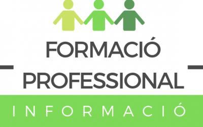 FORMACIÓ PROFESSIONAL: PREINSCRIPCIÓ
