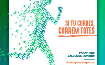 PIA&GO, la cursa solidària i saludable de l'Escola Pia de Catalunya