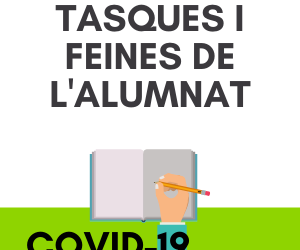 TASQUES, FEINES, DUBTES I ACOMPANYAMENT DE L'ALUMNAT